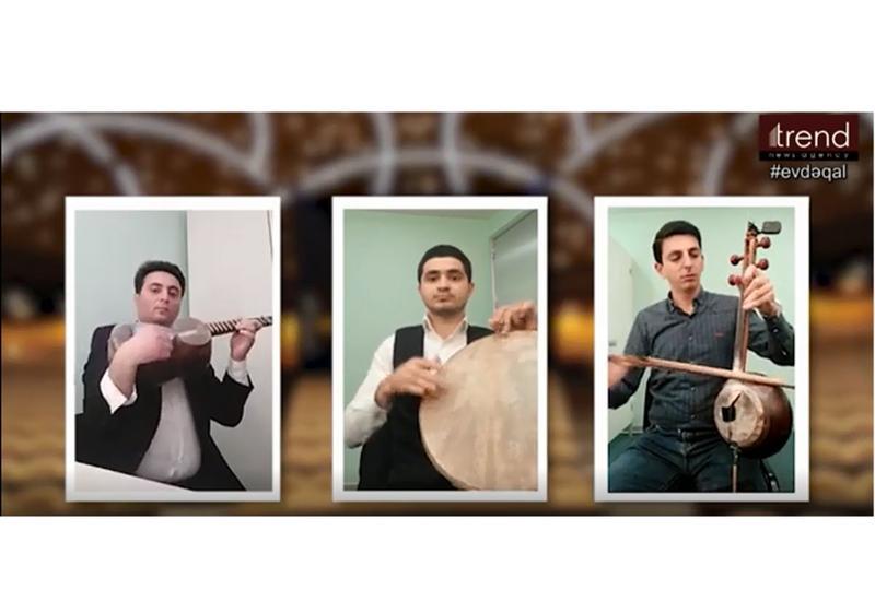 Международный центр мугама посвятил кампании #Evdəqal видеоролик