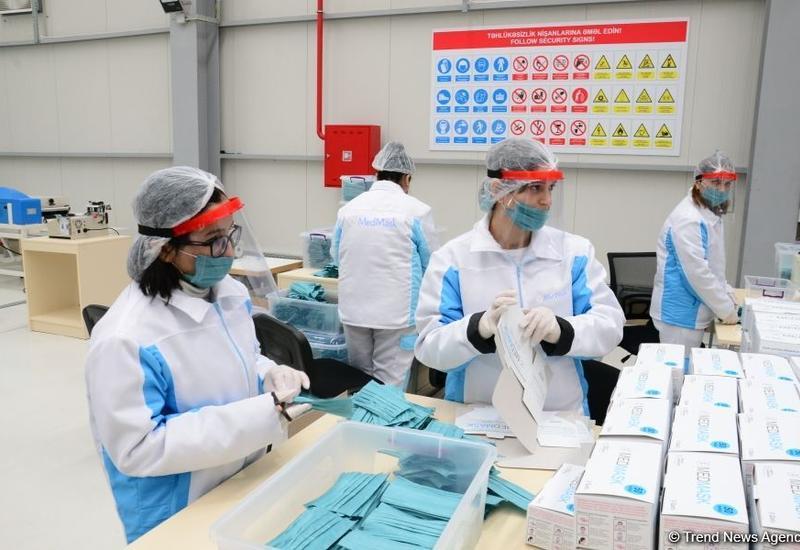 Запуск завода по производству медицинских масок способствует защите граждан Азербайджана от коронавируса