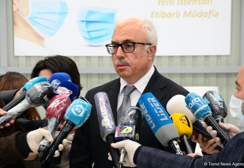 Азербайджан полностью обеспечит потребность в медицинских масках за счет внутреннего производства
