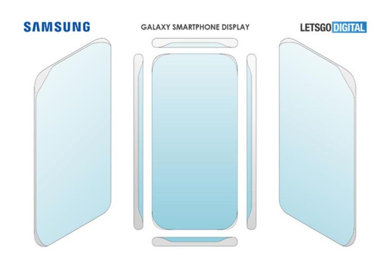 Samsung запатентовала безрамочный экран как у Huawei