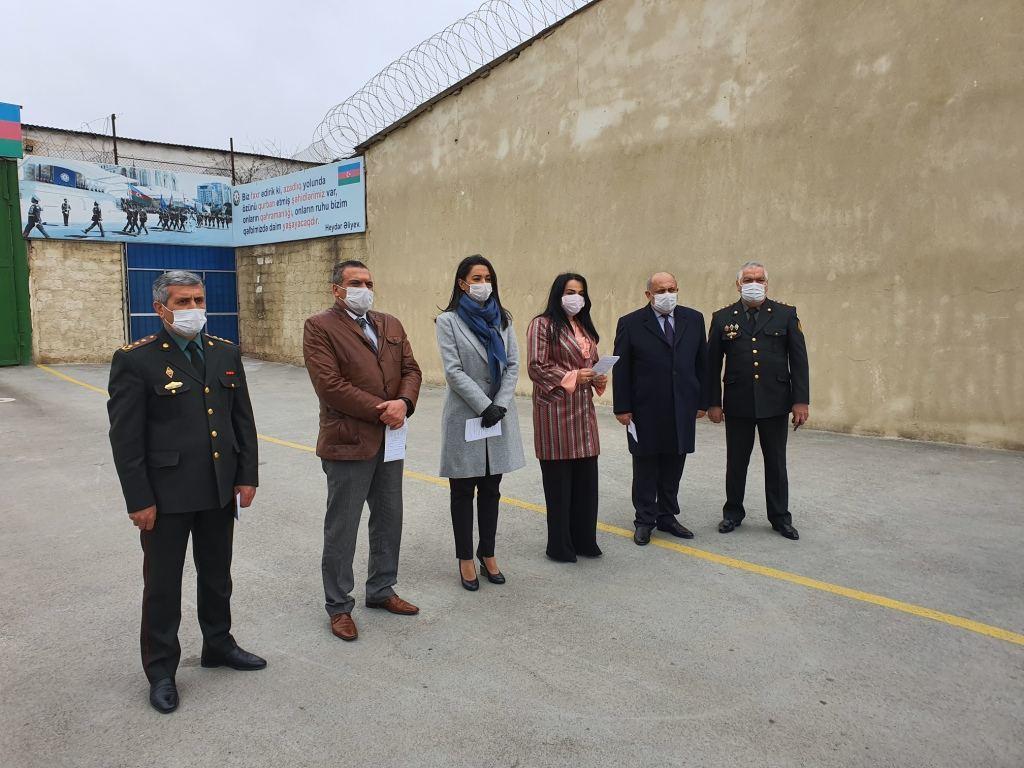 Омбудсмен Азербайджана приняла участие в исполнении распоряжения о помиловании