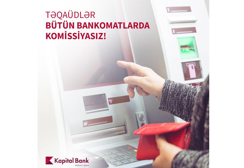 Kapital Bank обратился к владельцам социальных и пенсионных карт (R)