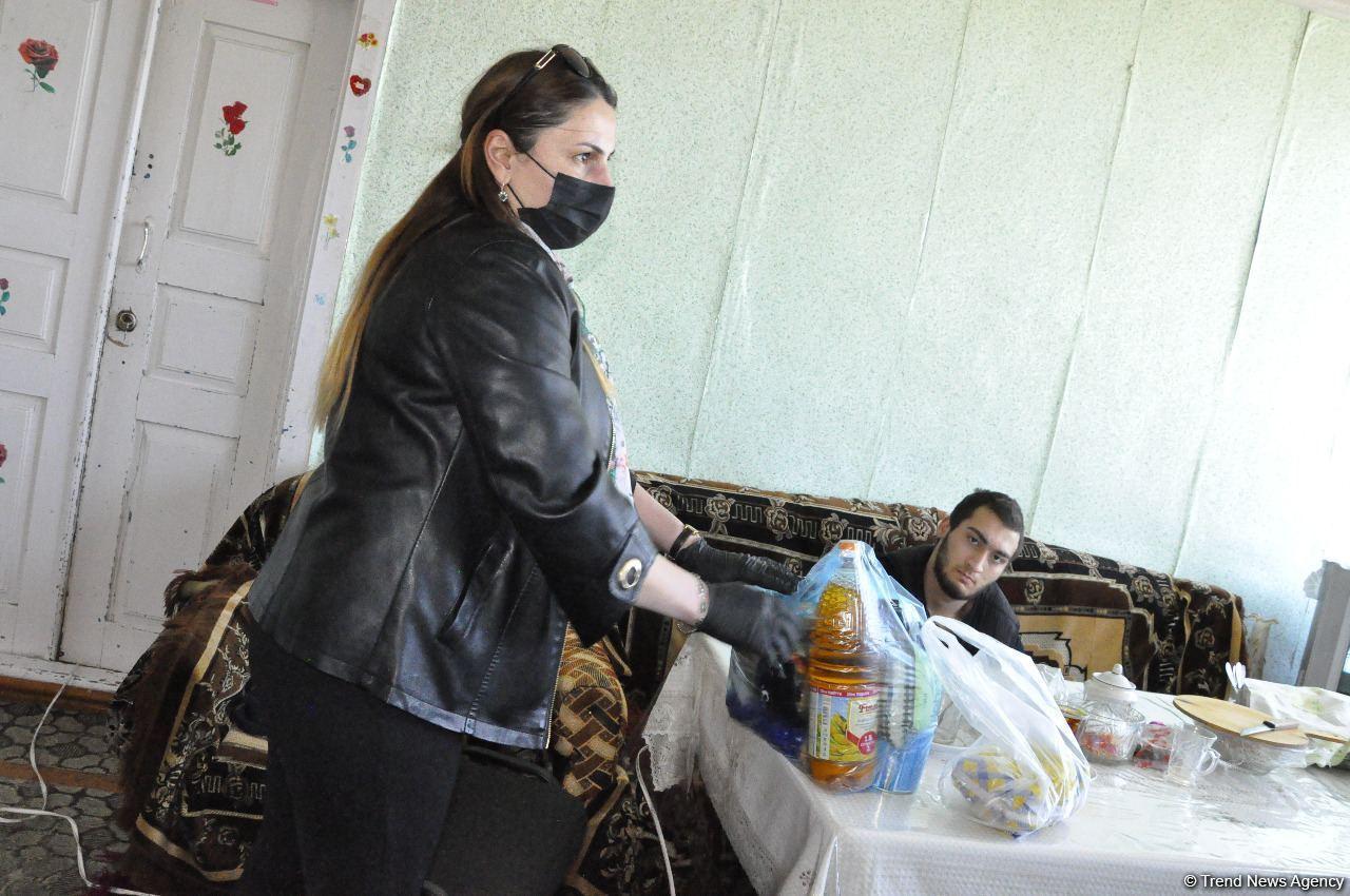 Депутат Севиль Микаилова оказала продовольственную помощь малообеспеченным семьям и одиноким лицам
