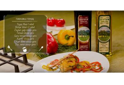 "Курица с эстрагоном и оливковым маслом <span class=""color_red"">- ВИДЕО</span>"