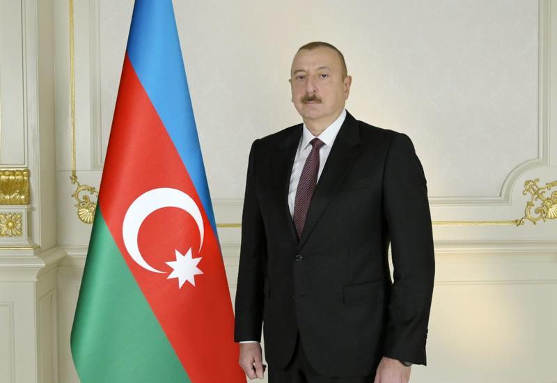 Ливанские выпускники азербайджанских университетов поздравили Президента Ильхама Алиева