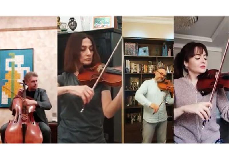 Коллективы филармонии имени Муслима Магомаева исполняют произведения Узеира Гаджибейли