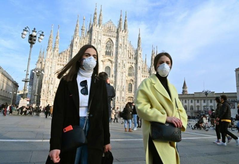 В Италии за сутки коронавирусом заразилось около 25 тыс. человек