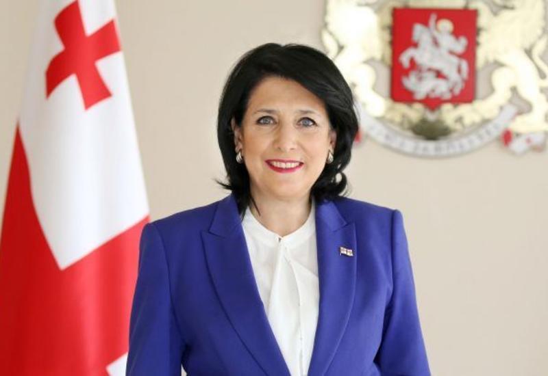 Президент Грузии поздравила азербайджанцев с Днем Республики