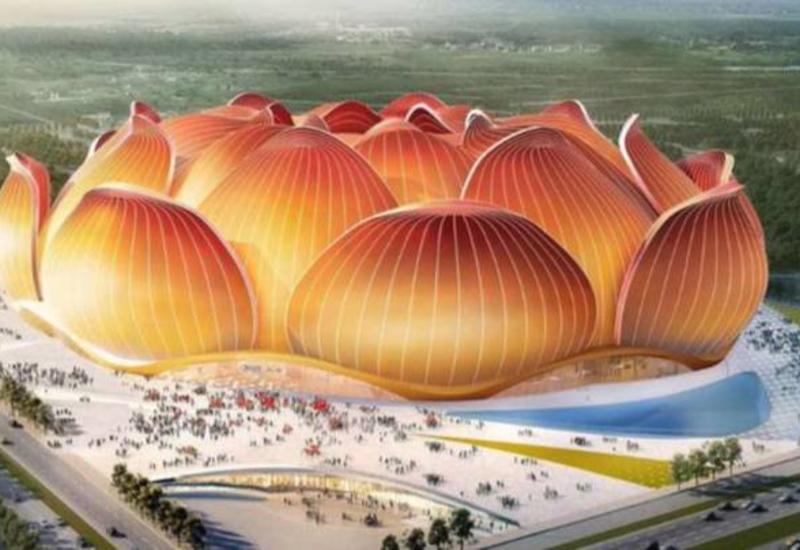 Dünyanın ən böyük stadionu Çində tikiləcək