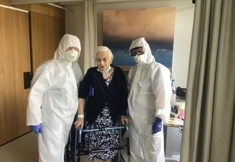 İki dünya müharibəsi və üç epidemiyadan sağ çıxan 103 yaşlı qadın