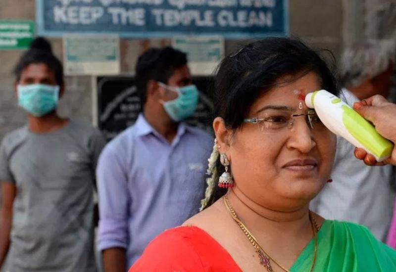 Число заразившихся коронавирусом в Индии превысило 13 миллионов