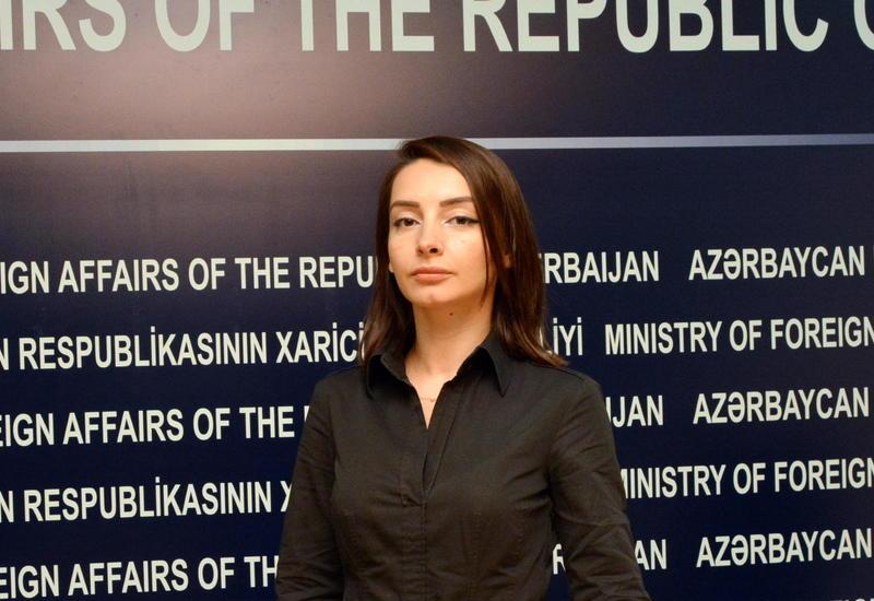 Leyla Abdullayeva: Ermənistan deməyə söz tapmadığı vaxtda Azərbaycandakı anti-erməni hissiyyatı mövzusunu gündəmə gətirməyə çalışır