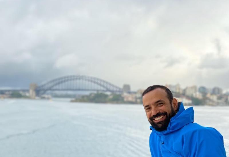 Фарид Новрузи завершил первый этап кругосветного путешествия