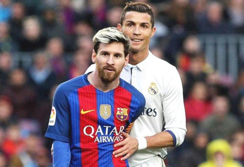 Messi birinci, Ronaldo ikinci oldu