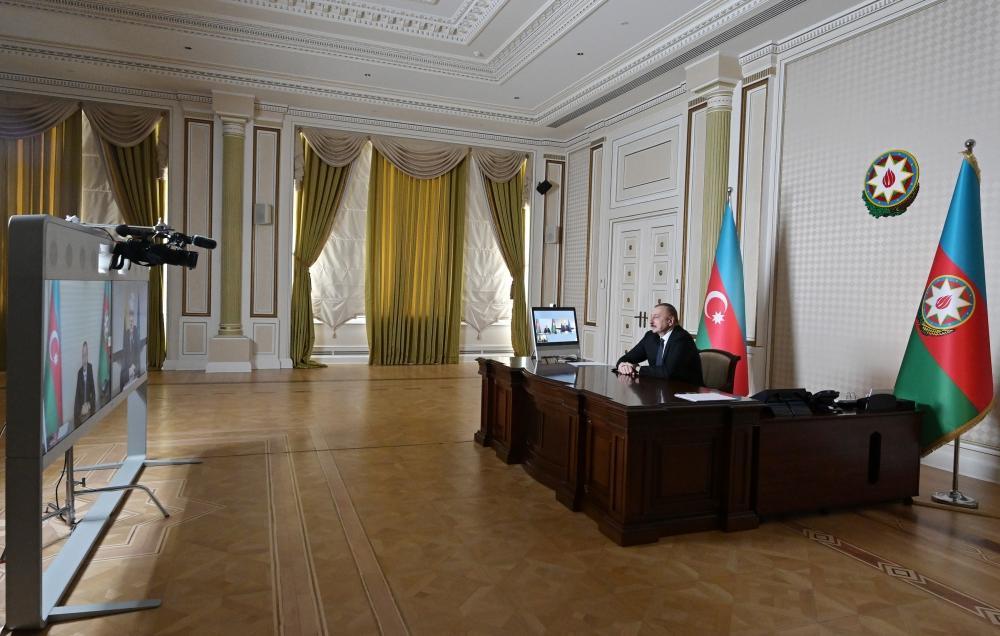 Prezident İlham Əliyev və Litva Prezidenti Qitanas Nauseda videobağlantı formatında danışıblar