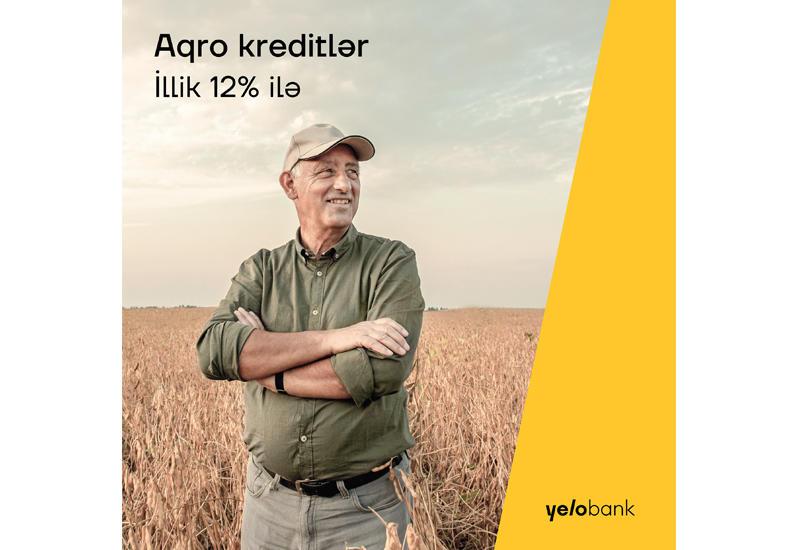 Аграрные кредиты под 12% от Yelo Bank (R)