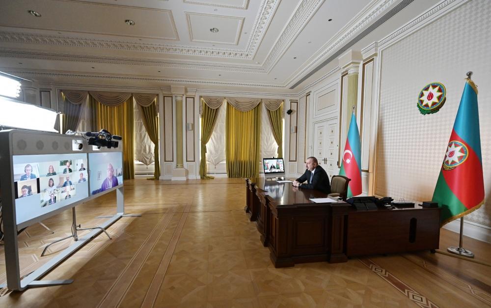 Prezident İlham Əliyevlə Avropa Yenidənqurma və İnkişaf Bankının prezidenti arasında videokonfrans keçirilib