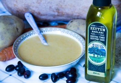 Овощной суп с оливковым маслом (6 месяцев+)