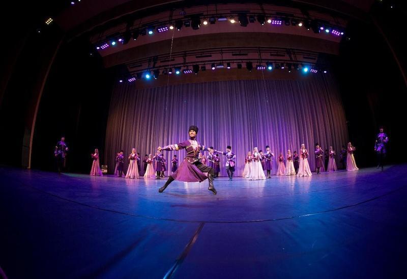 Азербайджанский государственный ансамбль танца в топ-3 танцевальных ансамблей СНГ