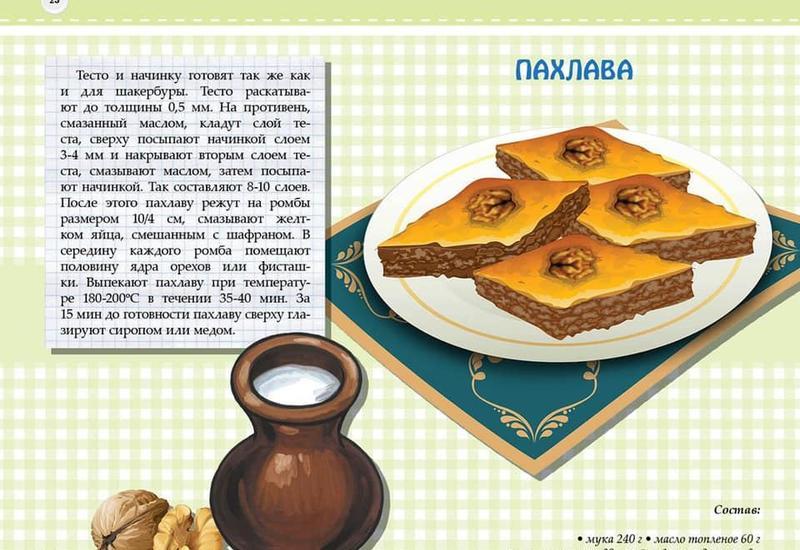 Бахрам Багирзаде выпустил книгу для детей, посвященную национальным блюдам