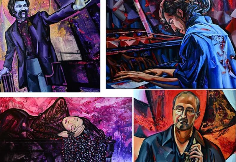Вугар Али представил пять портретов азербайджанских джазовых музыкантов