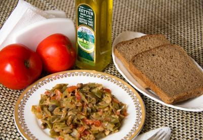 Фасоль с оливковым маслом (1 год +) (R)