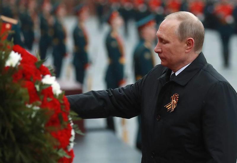 Путин 9 мая возложит цветы к Вечному огню и обратится к россиянам