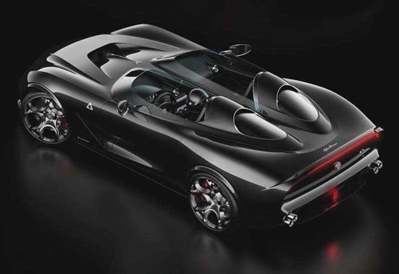 В сети показали новый автомобиль Alfa Romeo