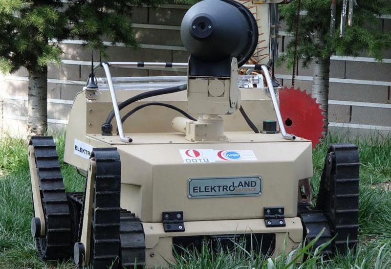 Bomba zərərsizləşdirən robot dezinfeksiya vasitəsinə çevrildi