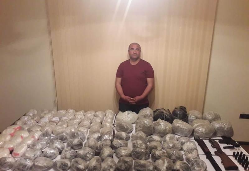 DSX: 115 kq narkotik vasitənin və odlu silahların ölkəyə keçirilməsinin qarşısı alındı