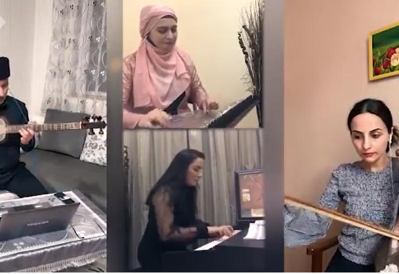 Азербайджанские музыканты исполнили ''Времена года'' Вивальди