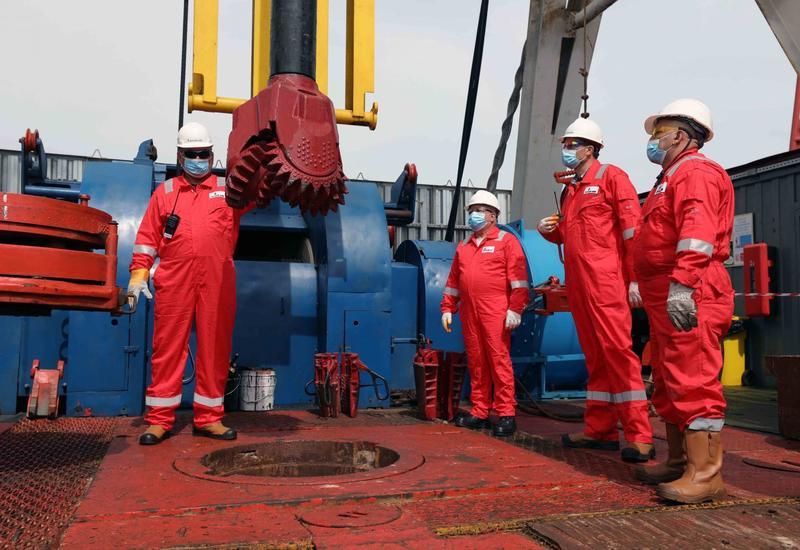 SOCAR начал бурение новой скважины на месторождении «Умид»