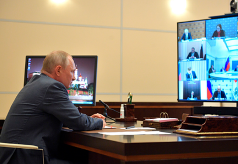 Путин допустил ужесточение режима ограничений из-за коронавируса