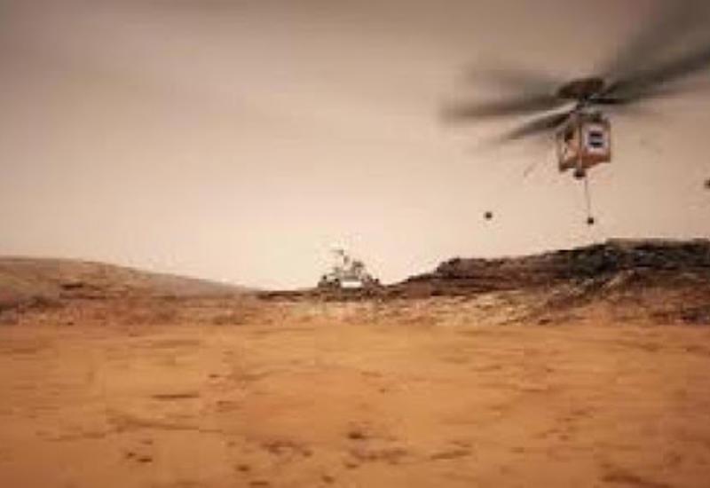 NASA-nın vertolyotu Marsda istifadə olunacaq