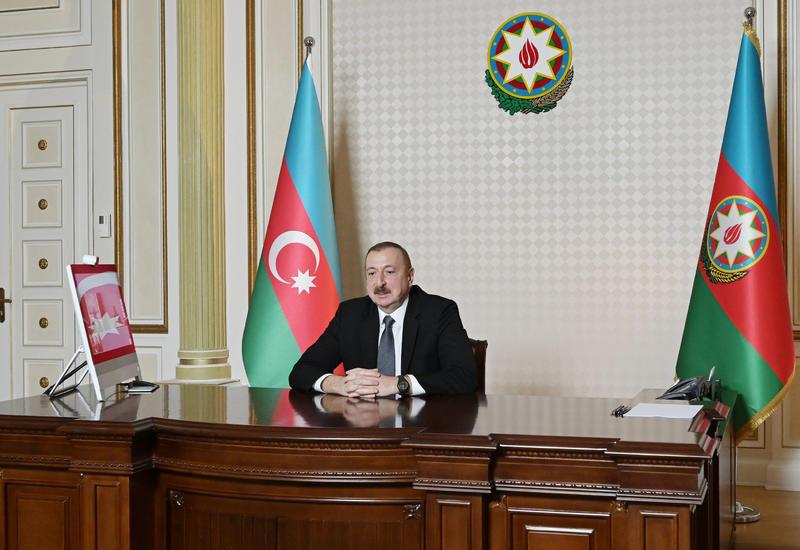 Prezident İlham Əliyev: Azərbaycan həmişə qanunun aliliyini və beynəlxalq hüququn aliliyini əsas götürür