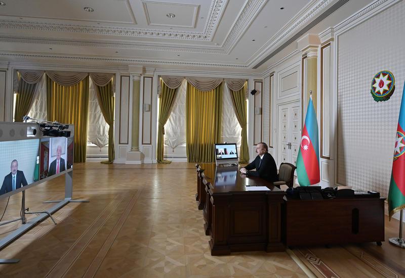 Prezident İlham Əliyev: Rusiya ilə qarşılıqlı siyasi əlaqələrimiz çox yüksək səviyyədədir