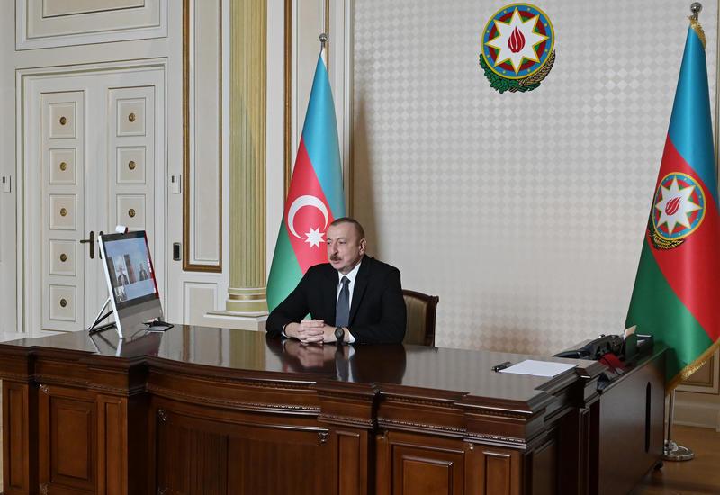 Prezident İlham Əliyev: Azərbaycanın tranzit imkanlarını genişləndirmək üçün tərəfdaşlarımızla, qonşularımızla işləyirik