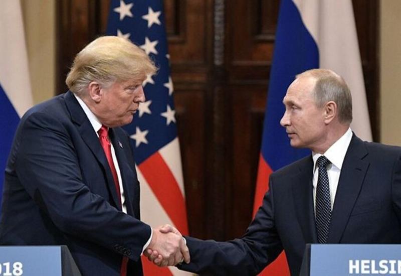 Rusiya və ABŞ prezidentləri arasında telefon danışığı olub