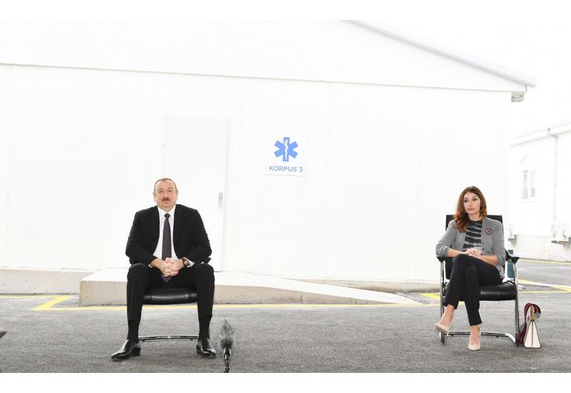 Prezident İlham Əliyev: Kasıbın malına, ərzaq payına göz dikən xaindir, bunun başqa adı yoxdur