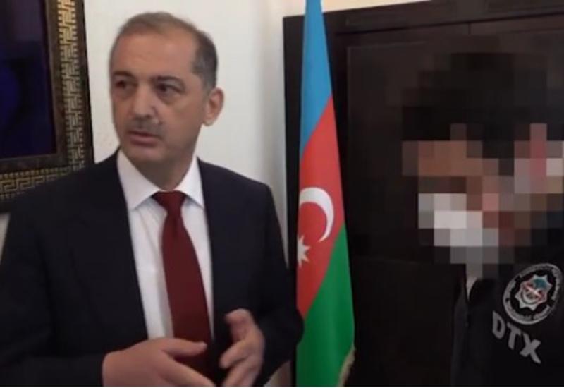 DTX İmişli Rayon İcra Hakimiyyətinin sabiq başçısının həbsi ilə bağlı məlumat yayıb