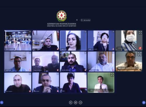Dövlət Komitəsində Şuşanın işğalının 28-ci ildönümü ilə bağlı videokonfrans keçirilib