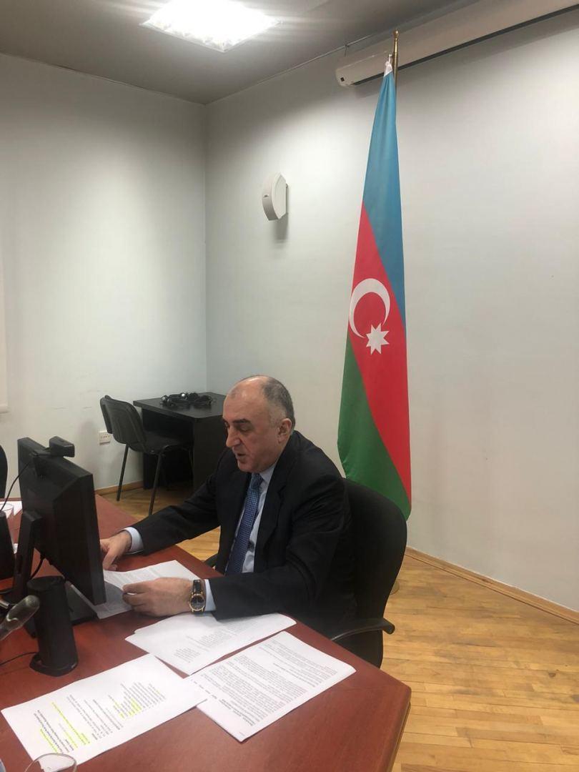 Elmar Məmmədyarov: Nasist hərəkatı ilə bağlı memorialların ucaldılması, onların qəhrəmanlaşdırılması hallarından ciddi narahatıq