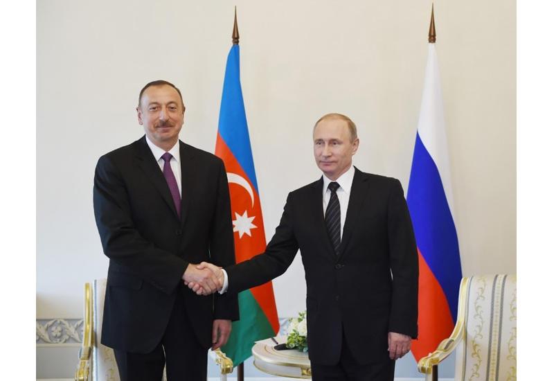 Prezident İlham Əliyevlə Rusiya Prezidenti Vladimir Putin arasında telefon danışığı olub
