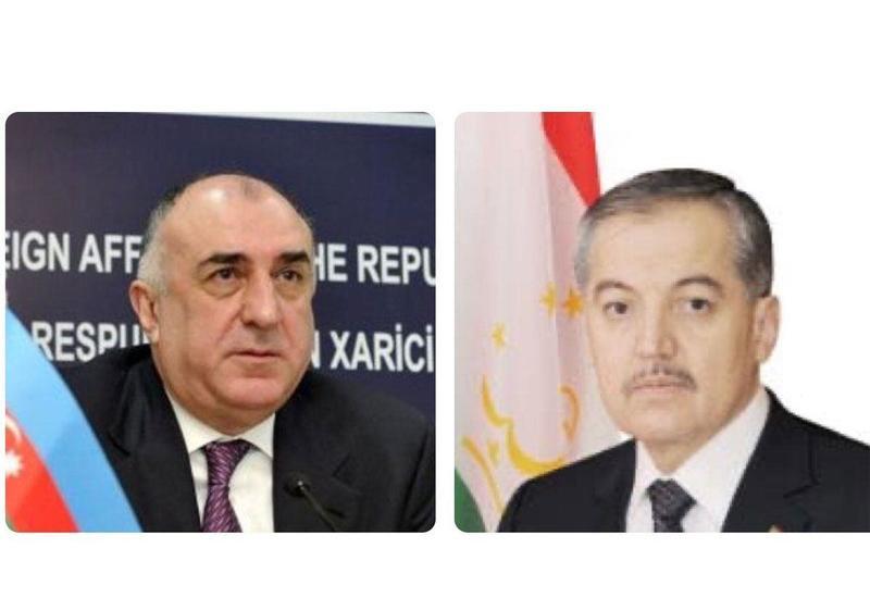 Elmar Məmmədyarov və Tacikistan Xarici İşlər naziri arasında telefon danışığı olub
