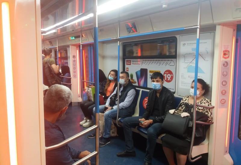 Metrodan istifadə edən sərnişinlərin sayı əvvəlki vaxtlarla müqayisədə xeyli azdır