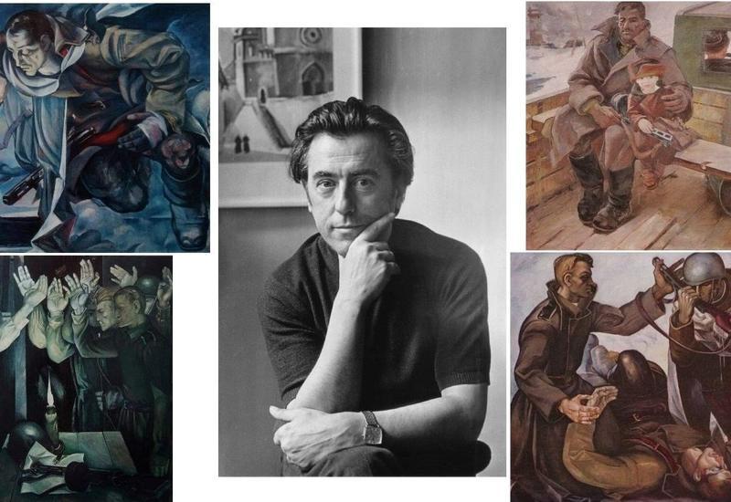 Они сражались за Родину… Картины Видади Нариманбекова о подвигах солдат, боровшихся с фашизмом