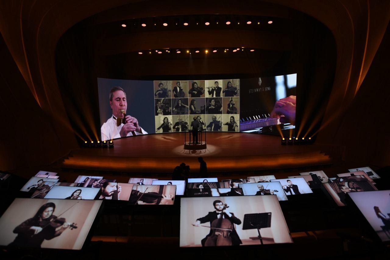Heydər Əliyevin anadan olmasının 97-ci ildönümü münasibətilə virtual konsert telekanallarda yayımlanacaq