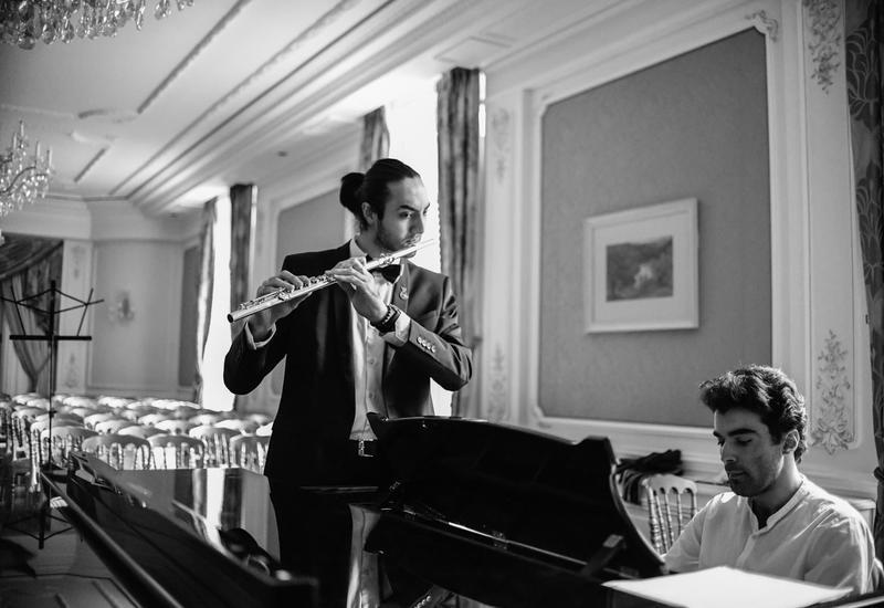 Правнук Самеда Вургуна и флейтист-виртуоз выступили во Франции с концертом, посвященным великому лидеру Гейдару Алиеву