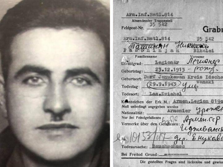Nikol Paşinyanın babası faşistlərə xidmət edirmiş: Baş nazir paylaşdığı foto ilə ifşa olundu