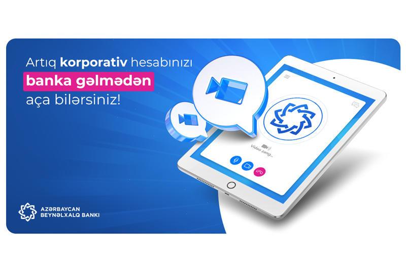 Международный Банк Азербайджана создал предпринимателям возможность  дистанционного открытия счетов (R)